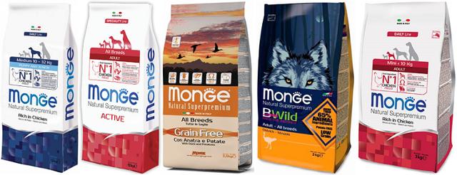 monge корм для собак - отзывы ветеринаров и владельцев о монже