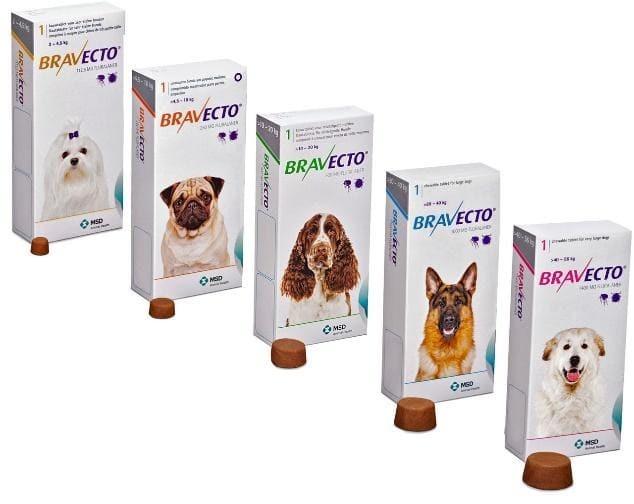Бравекто для собак от клещей: инструкция, отзывы, цена и где купить