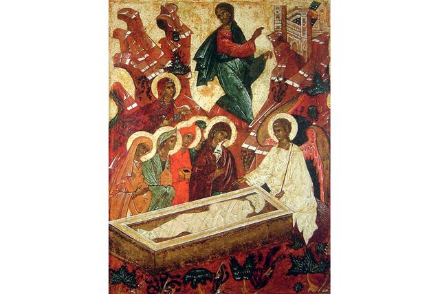 Этот котик «разрушил» сцену рождения Иисуса Христа